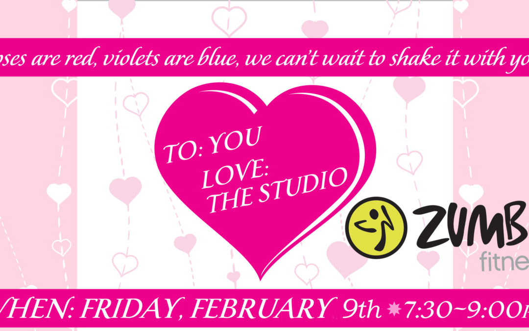 Feb. 9: Valentine Zumba Party
