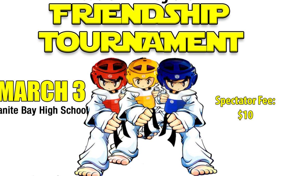 March 3: UWTA Friendship Tournament