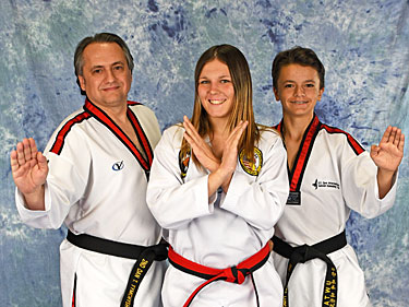 martial arts class for teens
