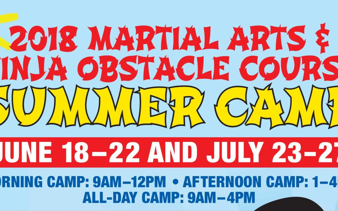 This Summer: Kids Martial Arts Camp!