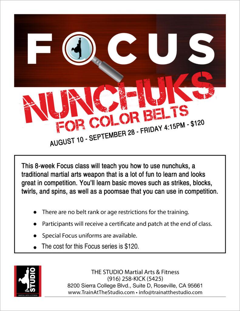 nunchuks class