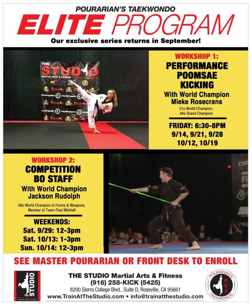 Elite Returns in September! | THE STUDIO Martial Arts & Fitness
