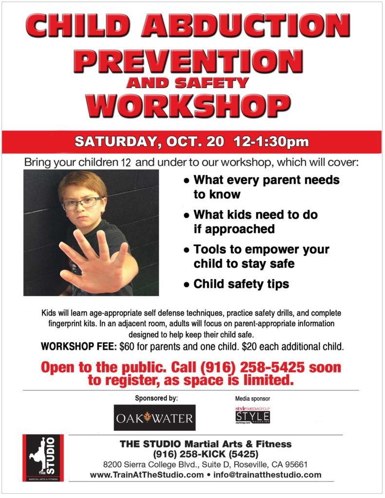 child abduction prevention and safety workshop