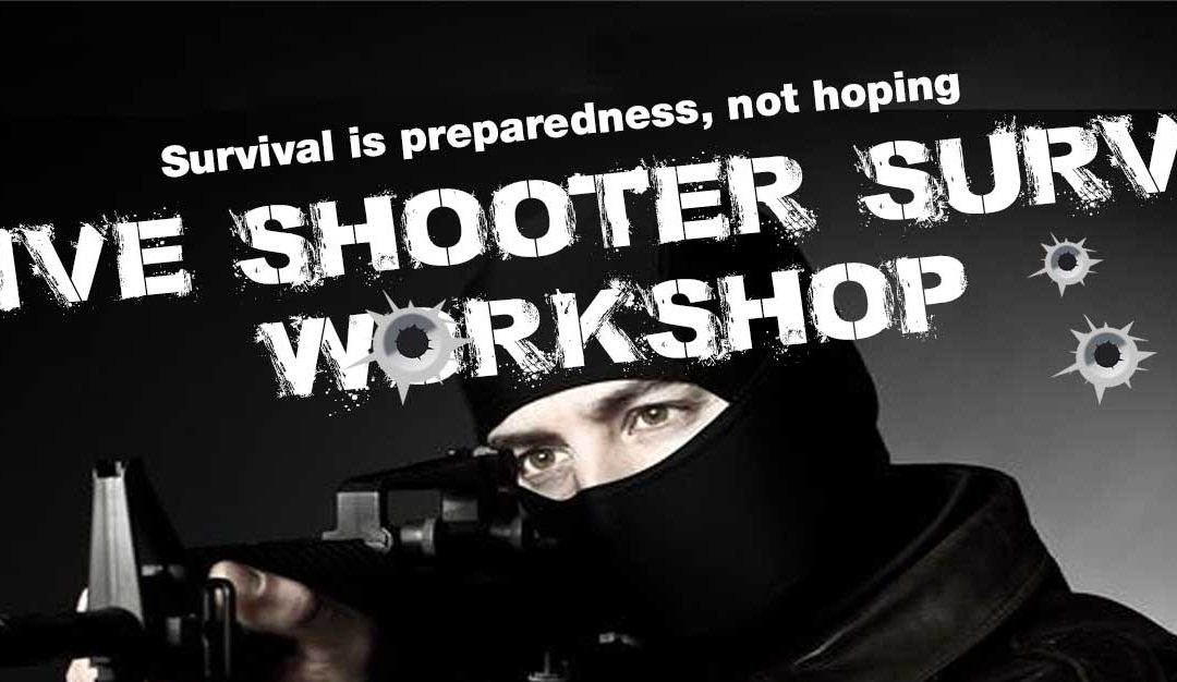 Nov. 3: Active Shooter Survival Workshop