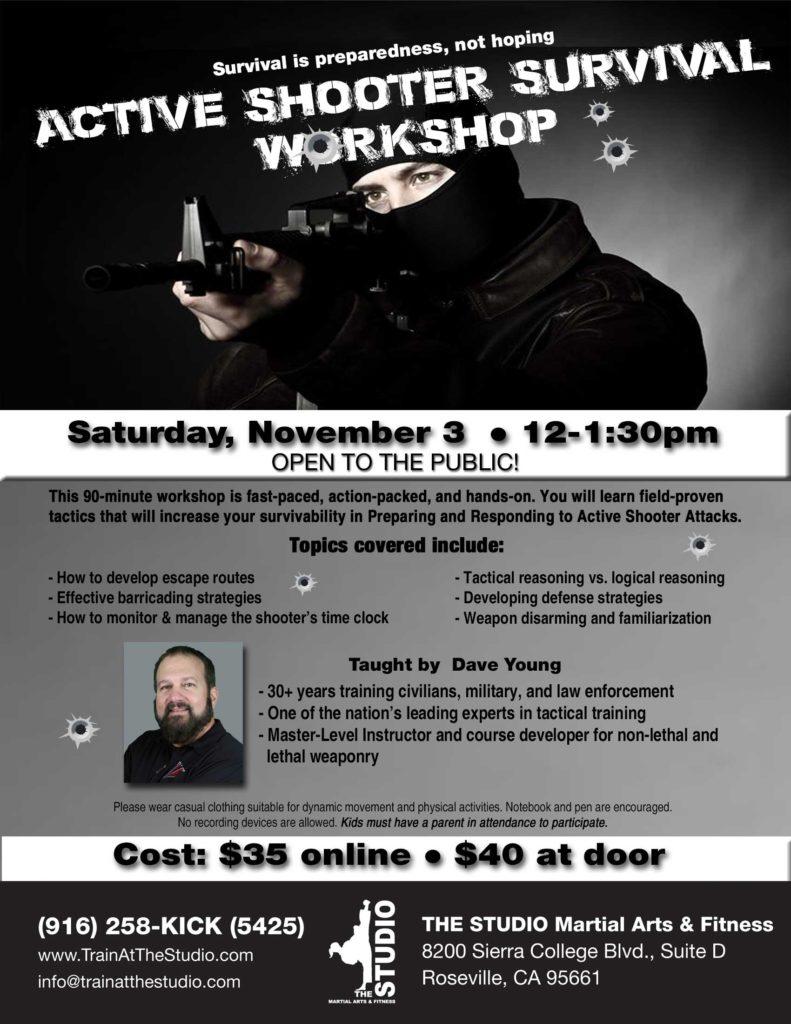 active shooter defense workshop