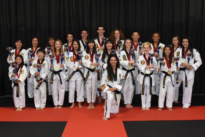 taekwondo national champions
