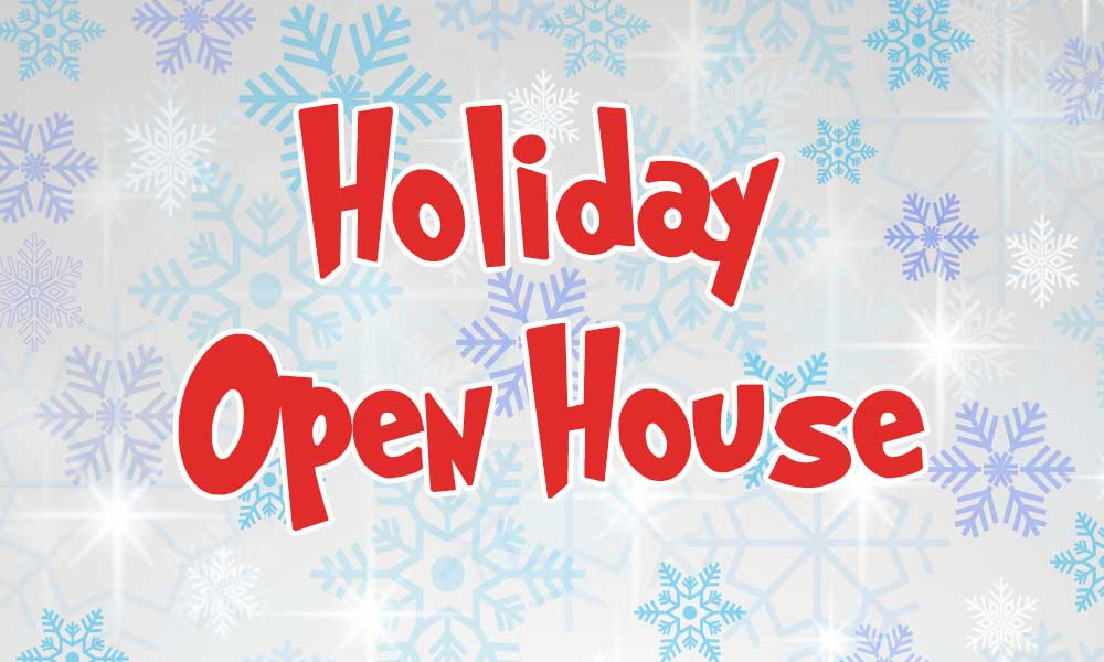 Dec. 8: Holiday Open House
