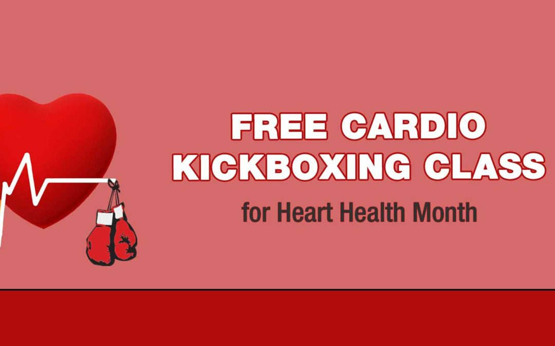Feb. 9: Free Cardio Kickboxing for Heart Health