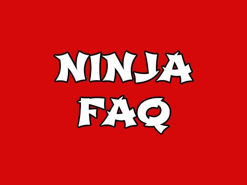 ninja course roseville faq