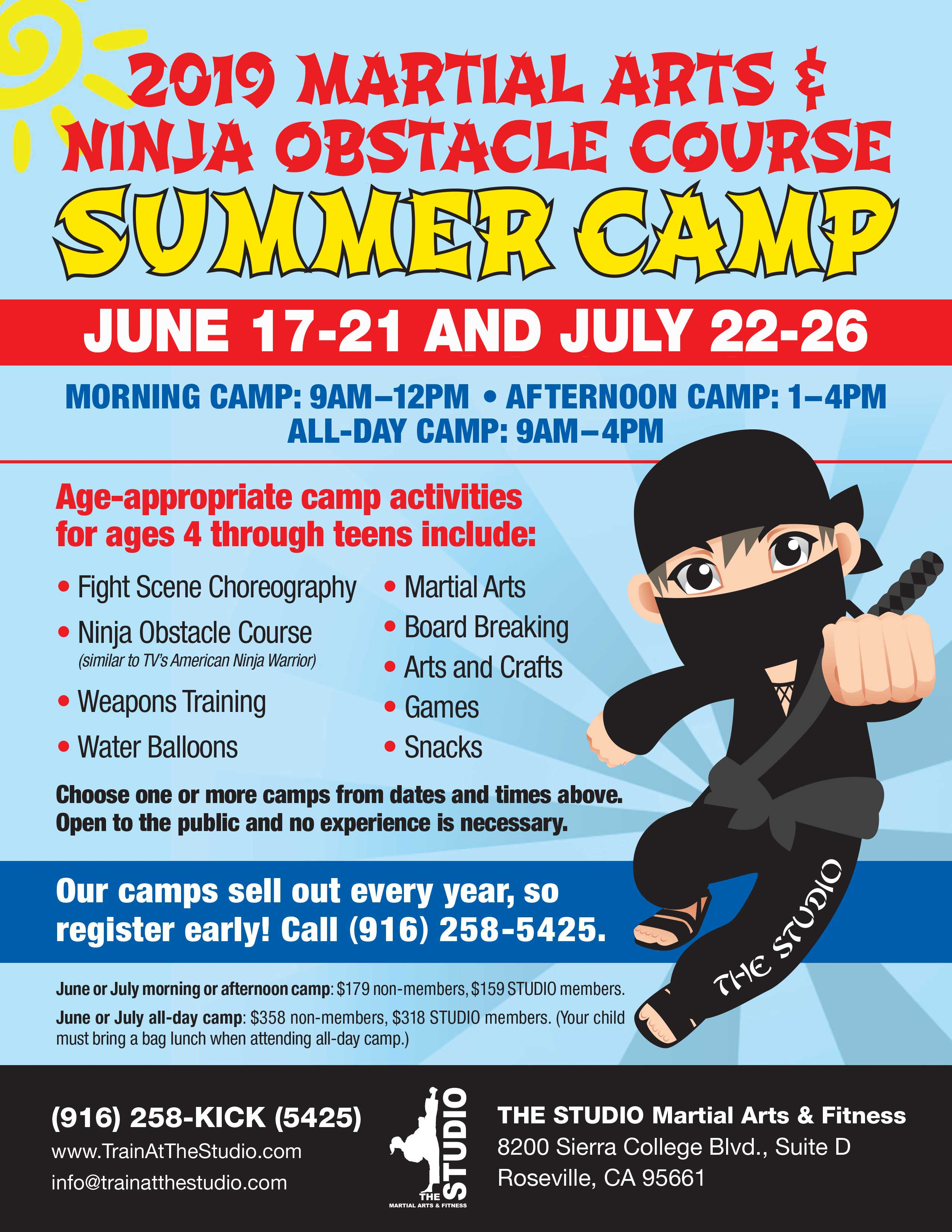 roseville summer camp