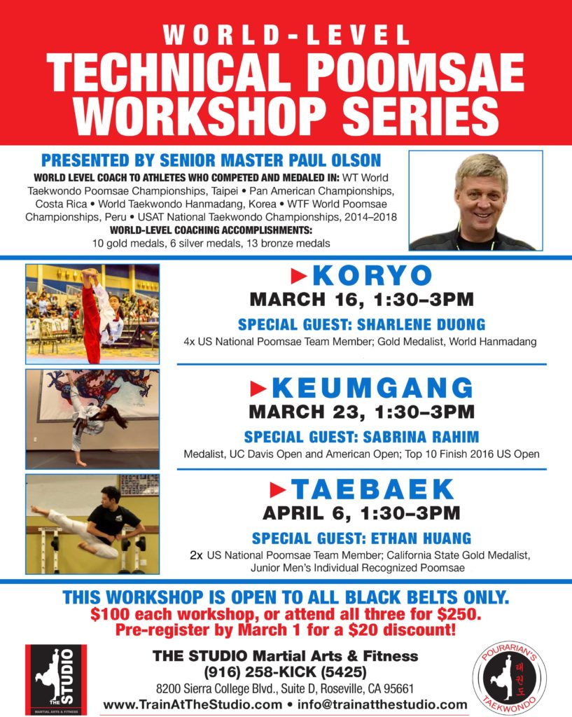 taekwondo workshop