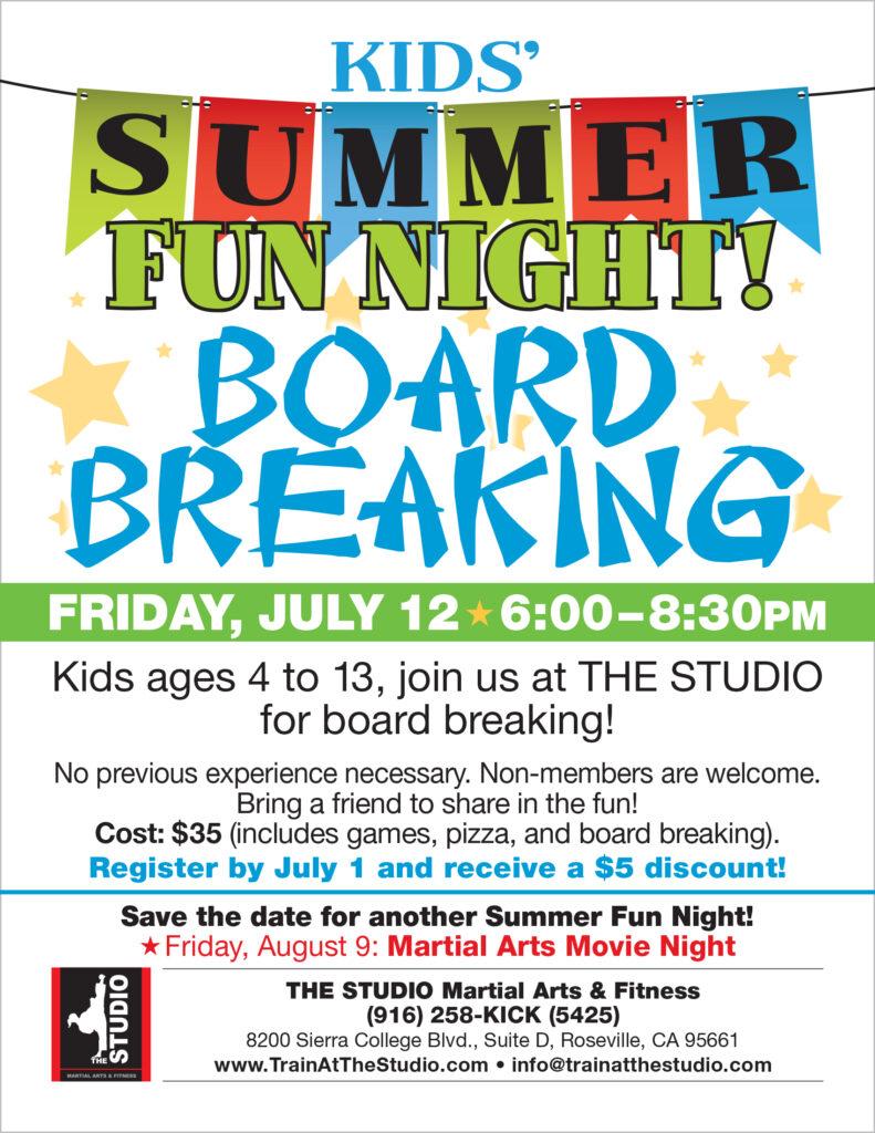 kids summer activities roseville