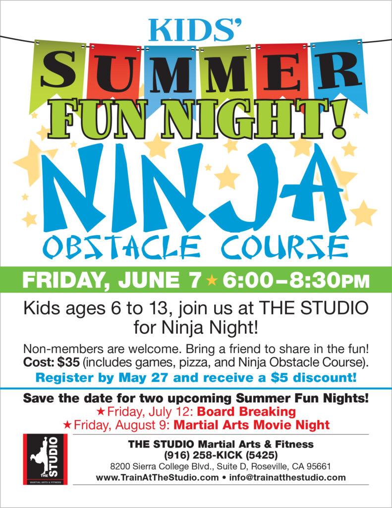 kids summer activities roseville ca