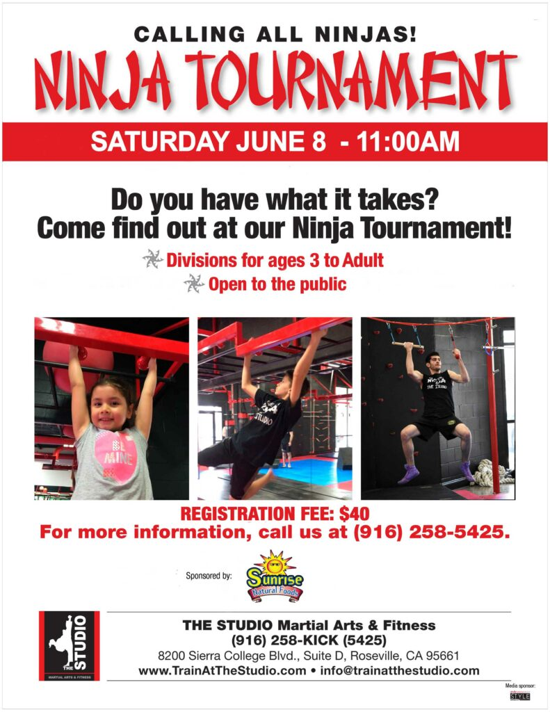 Ninja_Tournament Roseville June 2019