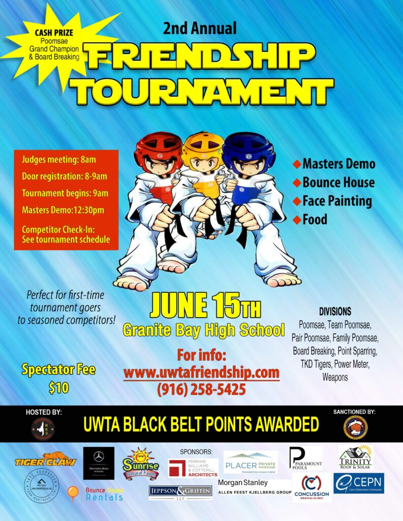 taekwondo friendship tournament