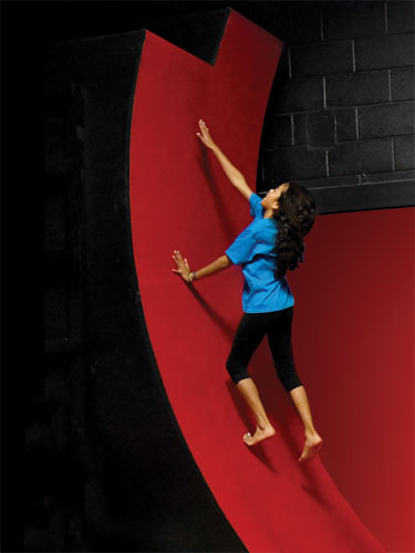 taekwondo studio warped wall hp