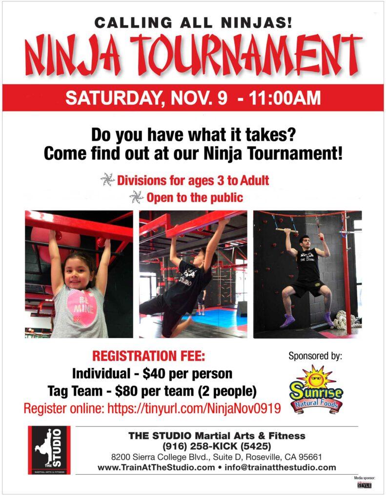 Sacramento Area Ninja Tournament